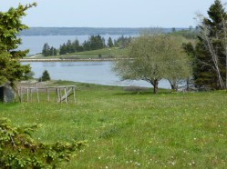 View of Graves Island Provincial Park Looking East